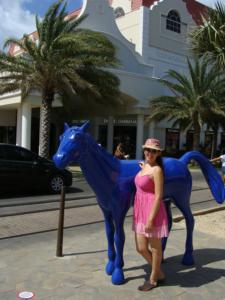 Caballos azules