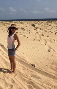 Duna de arena Aruba