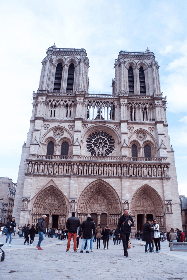 catedral notredame paris