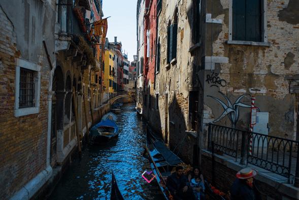 Como moverse en Venecia