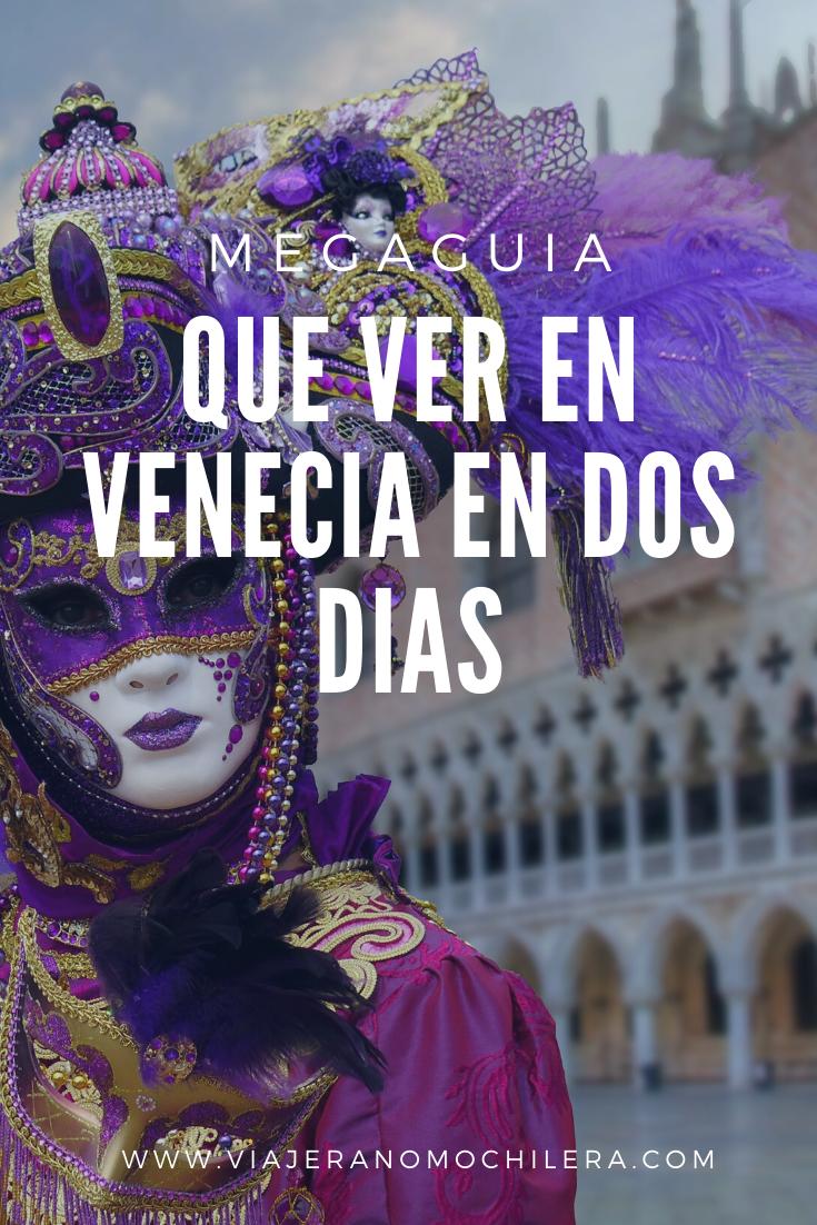 itinerario venecia en dos dias