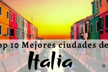 mejores ciudades de Italia