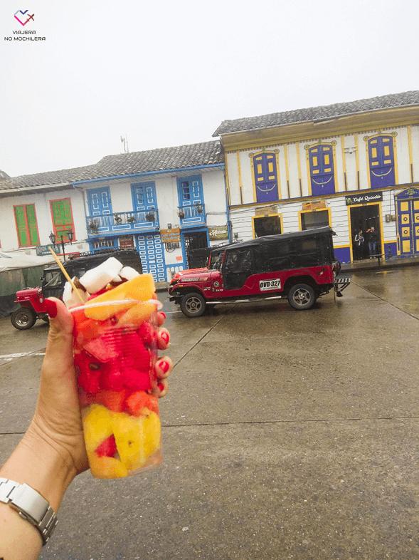 ruta por el eje cafetero colombiano