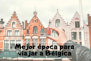 mejor época viajar Bélgica